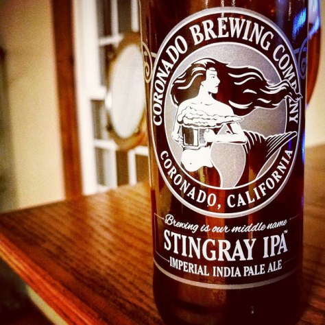 Обзор пива. Coronado Stingray Imperial IPA.