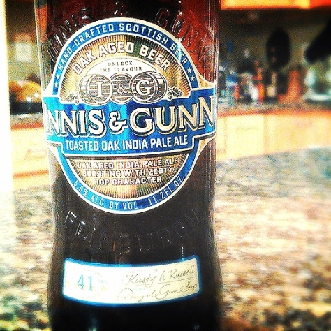 Обзор пива. Innis & Gunn Toasted Oak IPA.