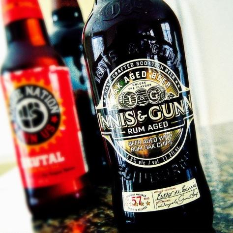 Ви Хеви. Wee Heavy. Innis & Gunn Rum Aged. Обзор пива.