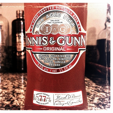 Обзор пива. Innis & Gunn Original.