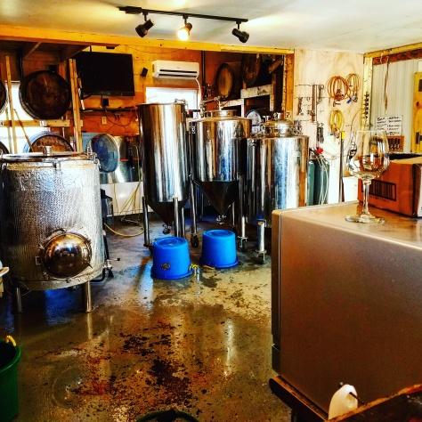 Крафтовая пивоварня. Bent Hill Brewery. Об интересном сорте. Фруктовое пиво. [Fruit beer].