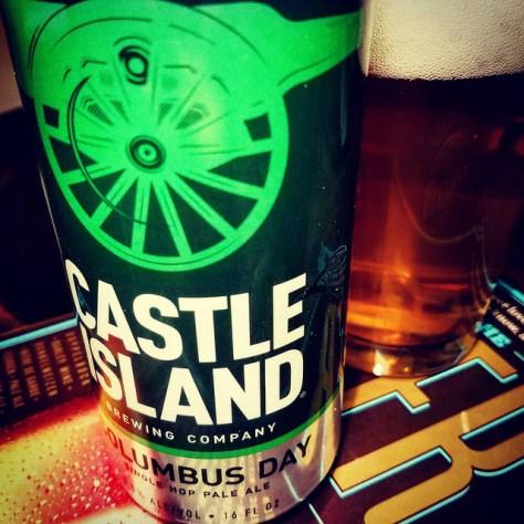 Обзор пива. Castle Island Columbus Day.