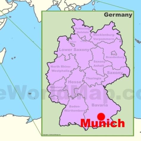 Об интересном сорте. Доппельбок. [Doppelbock]. Мюнхен. Бавария.