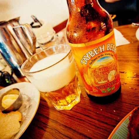 Обзор пива. Taybeh Golden.