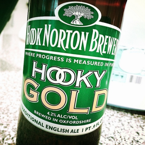 Обзор пива. Hook Norton Hooky Gold.