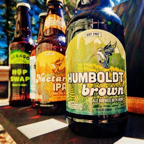 Обзор пива. Humboldt Brown.