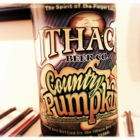 Обзор пива. Ithaca Country Pumpkin.