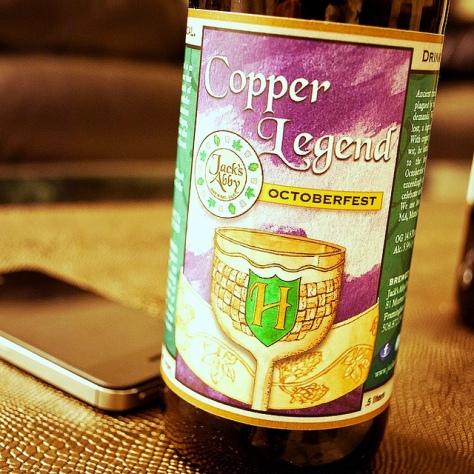 Обзор пива. Jack's Abby Copper Legend.