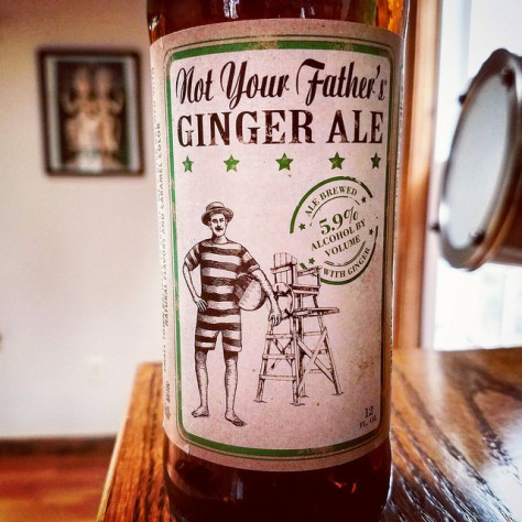 Обзор пива. Small Town Not Your Father's Ginger Ale.