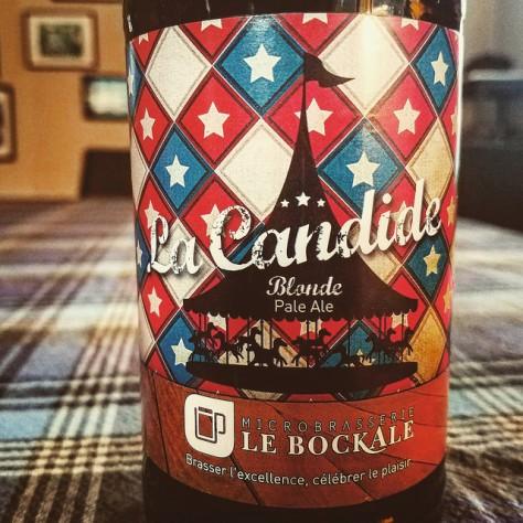 Обзор пива. Le BockAle La Candide.