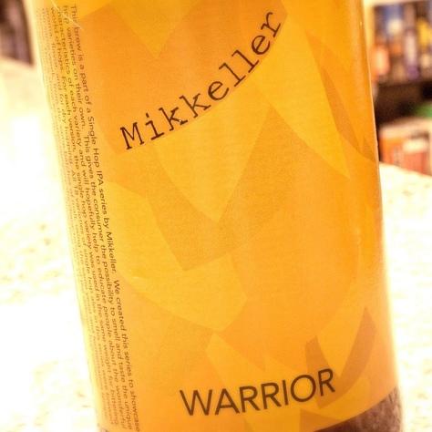 Обзор пива. Mikkeller Warrior.