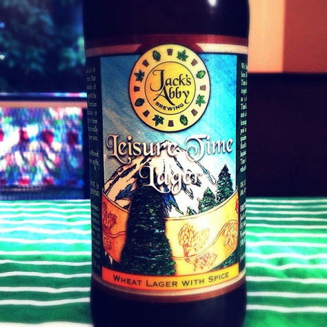 Обзор пива. Jack's Abby Leisure Time.