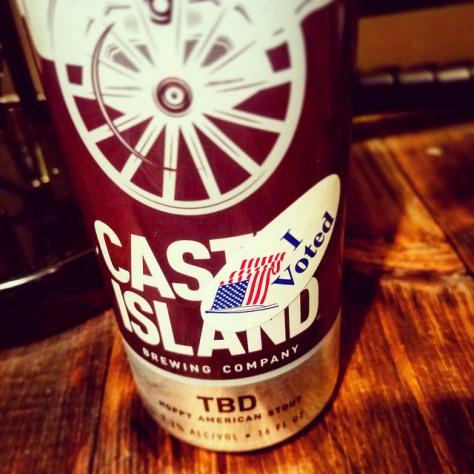 Обзор пива. Castle Island TBD.