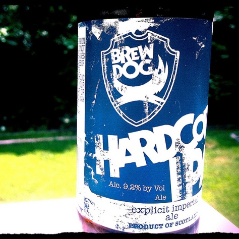 Обзор пива. BrewDog Hardcore IPA.