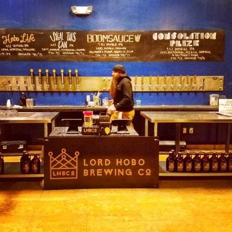 Крафтовая пивоварня. Lord Hobo Brewery.