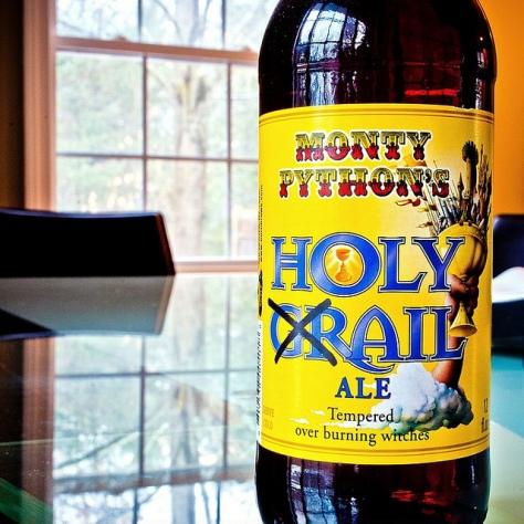 Обзор пива. Black Sheep Monty Python's Holy Grail.