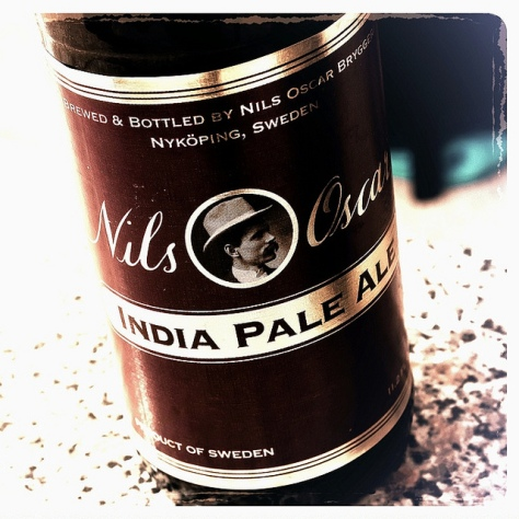 Обзор пива. Nils Oscar India Pale Ale.