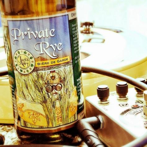 Обзор пива. Jack's Abby Private Rye.