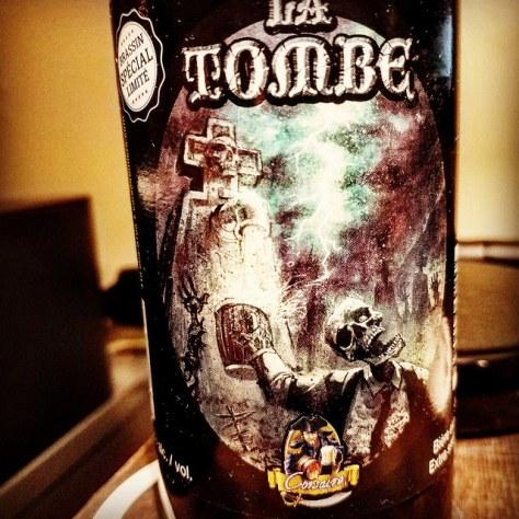 Обзор пива. Le Corsaire La Tombe.