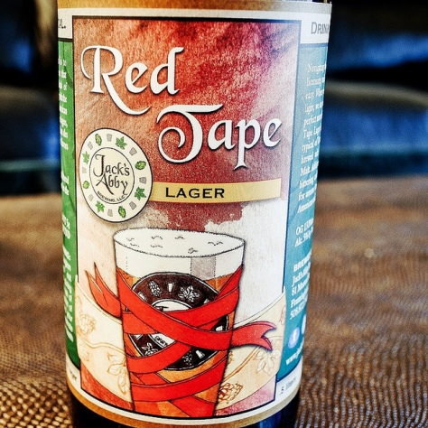 Обзор пива. Jack's Abby Red Tape.