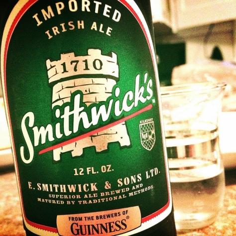 Обзор пива. Guinness Smithwick's.