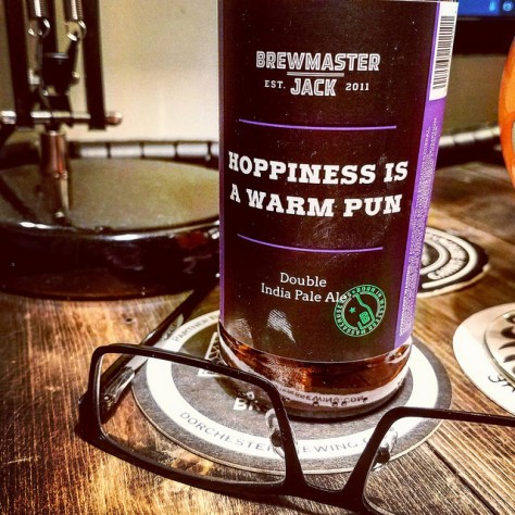 Обзор пива. Brewmaster Jack Hoppiness Is A Warm Pun.