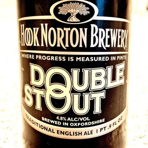 Обзор пива. Hook Norton Double Stout.