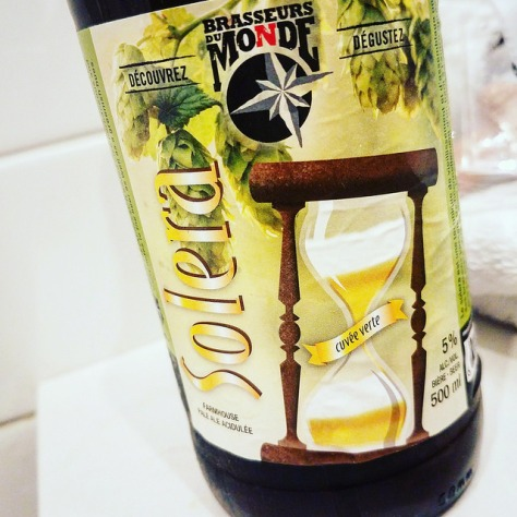 Обзор пива. Du Monde Solera.