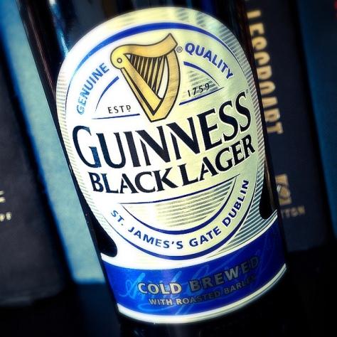 Обзор пива. Guinness Black Lager.