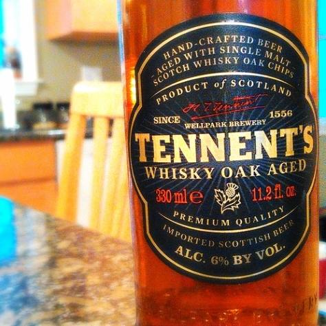 Обзор пива. Caledonian Tennent's.