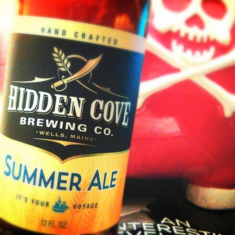 Бледный [светлый] пшеничный эль. Pale Wheat Ale. Hidden Cove Summer Ale. Обзор пива.