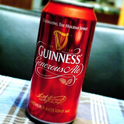 Обзор пива. Guinness Generous Ale.