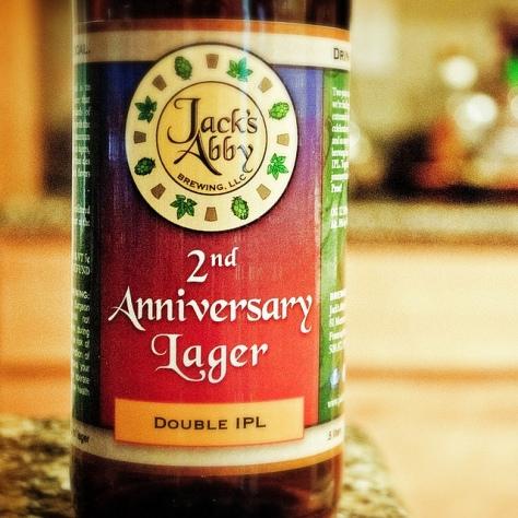 Обзор пива. Jack's Abby 2nd Anniversary Lager.