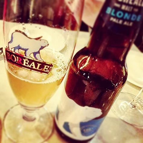 Обзор пива. Du Nord Boréale Blonde.