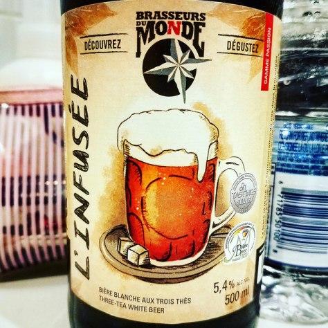 Травяное пиво. Грюйт. Du Monde L'Infusée. Обзор пива.