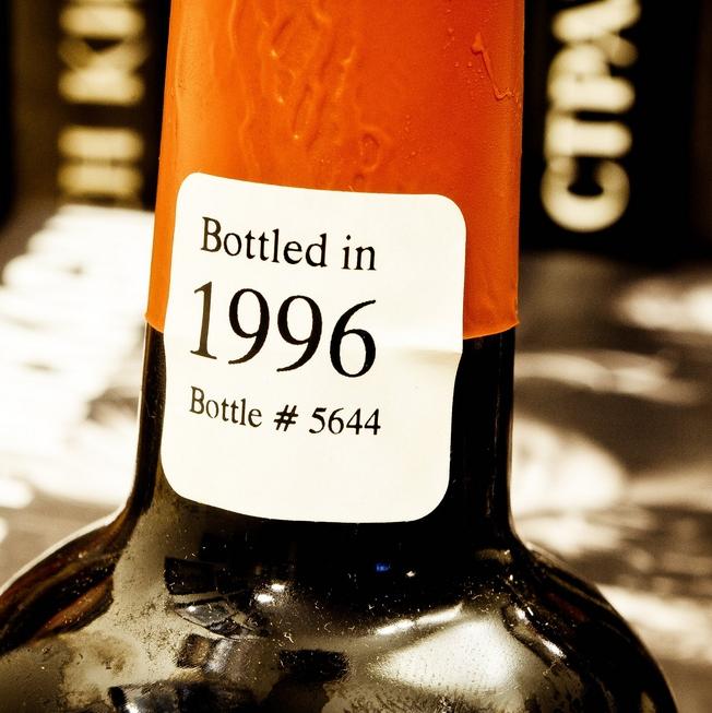 Временная капсула. Gale's Prize Old Ale. Bottle #5644. 1996-2012.