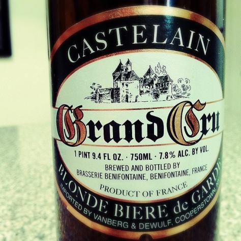 Бир де Гард. Bière de Garde. Castelain Grand Cru. Подробный обзор.