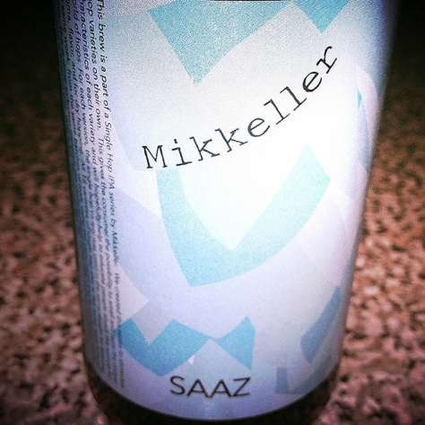 Обзор пива. Mikkeller Saaz Single Hop IPA.