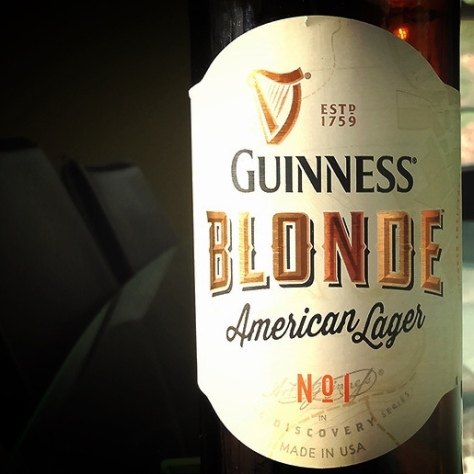 Обзор пива. Guinness Blonde American Lager.