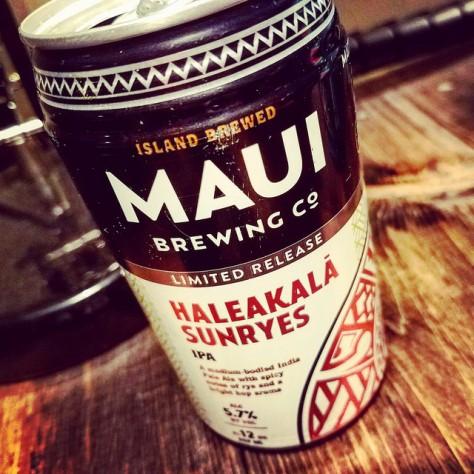 Обзор пива. Maui Haleakala SunRyes.