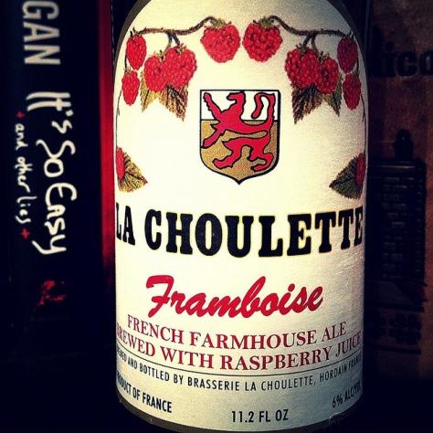 Обзор пива. La Choulette.