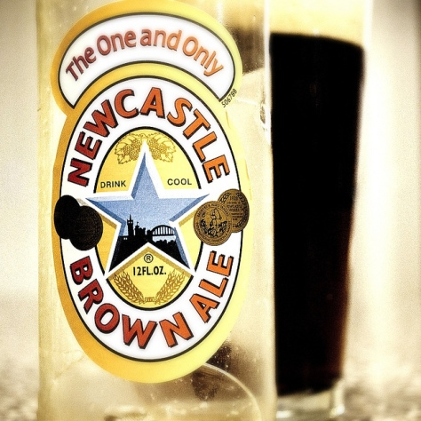 Обзор пива. Caledonian Newcastle Brown Ale.
