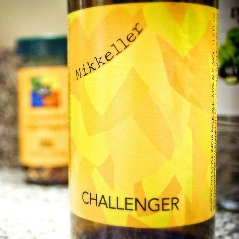 Обзор пива. Mikkeller Challenger Single Hop IPA.