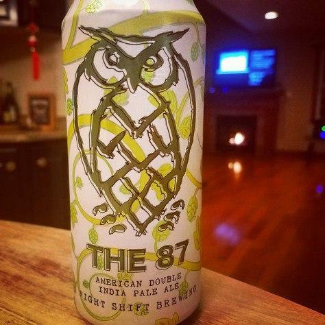 Обзор пива. Night Shift The 87.