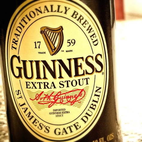 Обзор пива. Guinness Extra Stout.