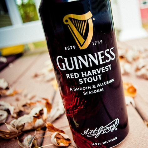 Обзор пива. Guinness Red Harvest Stout.