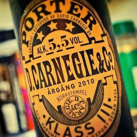 Обзор пива. Carlsberg Sverige Carnegie Porter.