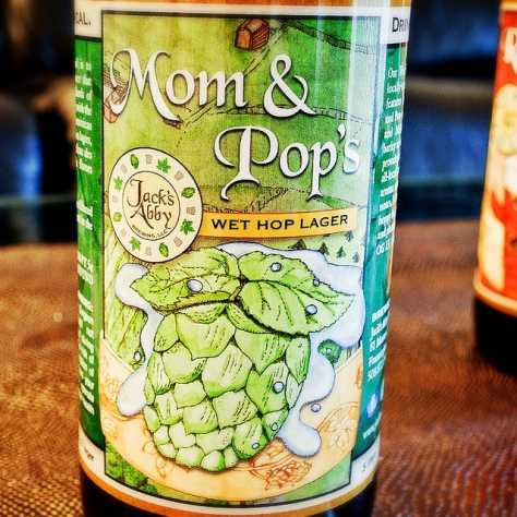 Обзор пива. Jack's Abby Mom & Pop's Wet Hop Lager.