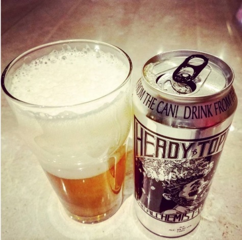 Обзор пива. The Alchemist Heady Topper.