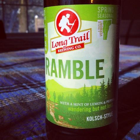 Обзор пива. Long Trail Ramble.